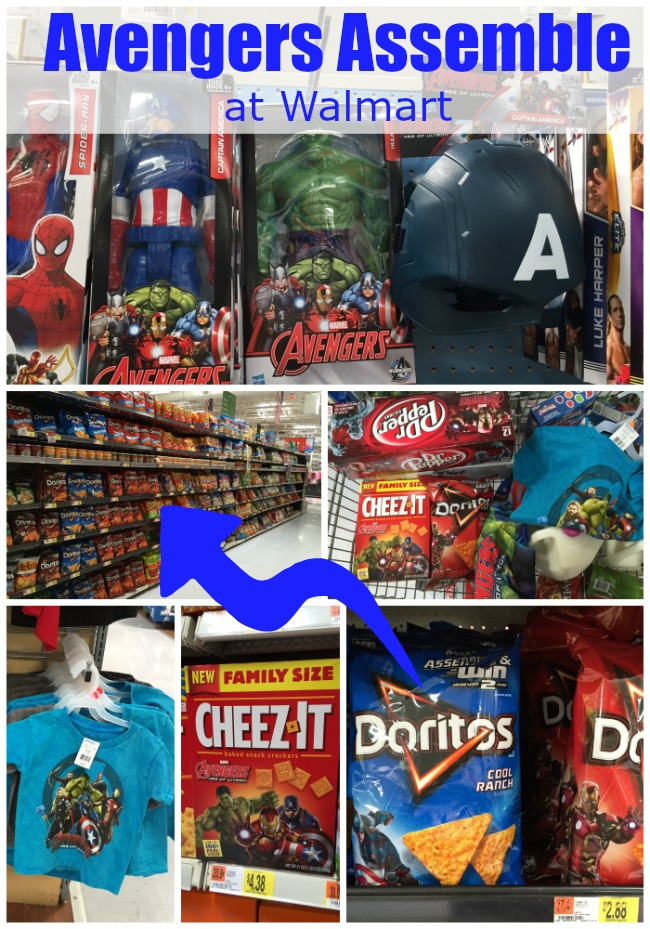 Avengers Assemble at Walmart Avengers age of ultron app