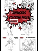 Avengers Coloring Pages Avengers Age of Ultron