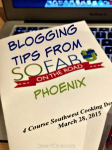 Blogging Tips From SoFab On The Road Phoenix