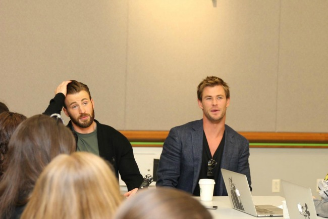 Captain America and Thor #AvengersEvent