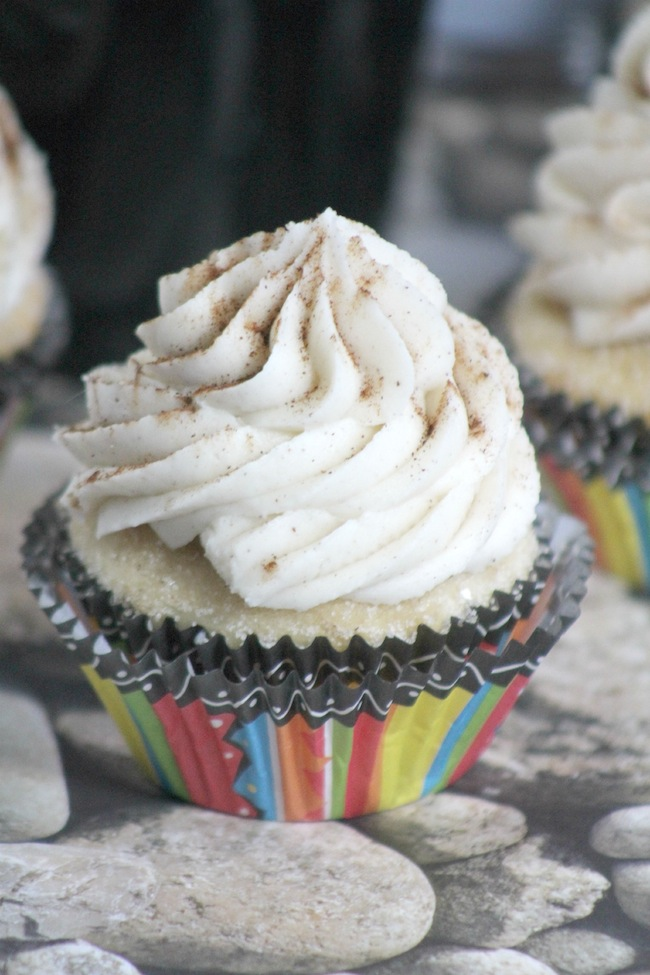 Cinco de mayo Churro Cupcakes