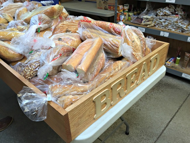 Daily Bread Offerings at the Interfaith Community Services Food Bank