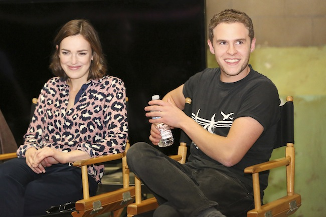MARVEL'S AGENTS OF S.H.I.E.L.D. - Bloggers event (ABC/Adam Taylor) ELIZABETH HENSTRIDGE, IAIN DE CAESTECKER