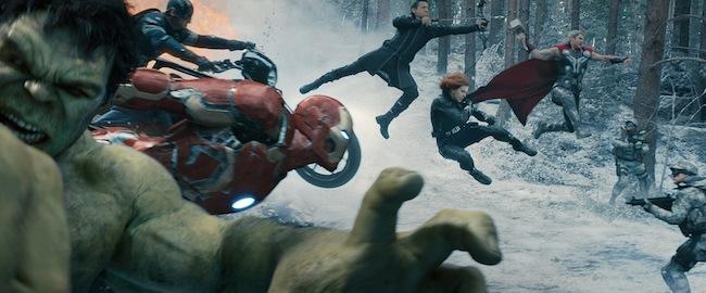 Epic Avengers Jump Scene