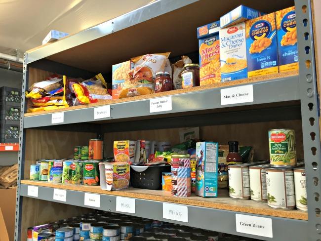 Food Pantry Shopping