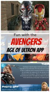 Fun with the Avengers Age of Ultron app
