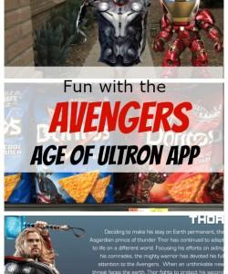 Fun with Avengers: Age of Ultron App #AvengersUnite