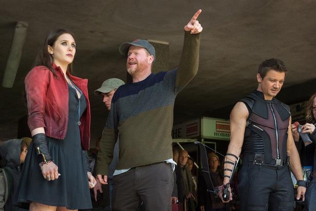 Joss Whedon Elizabeth Olsen #avengersevent