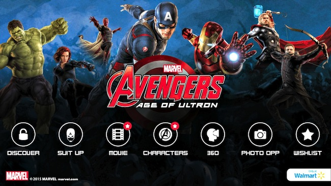 Marvels Avengers Age of Ultron App