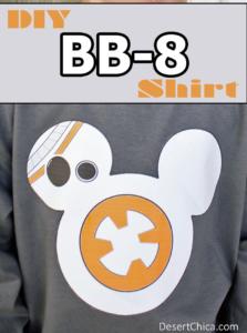 Star Wars Force Awakens BB-8 Shirt