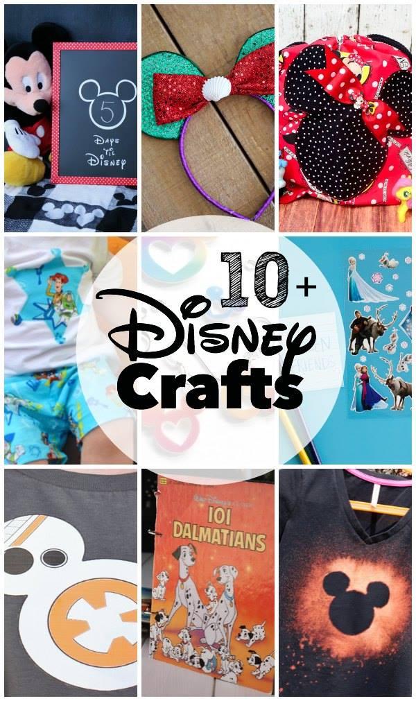 DIsney Crafts #DisneySMMOMS