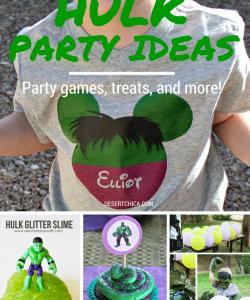 7 Easy Hulk Party Ideas