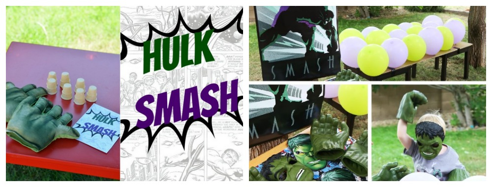 Hulk Smash Game Ideas