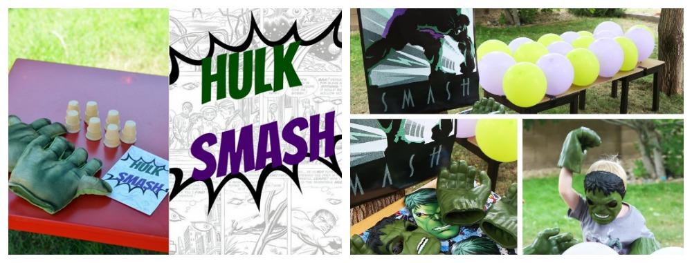 Hulk Smash Game Ideas