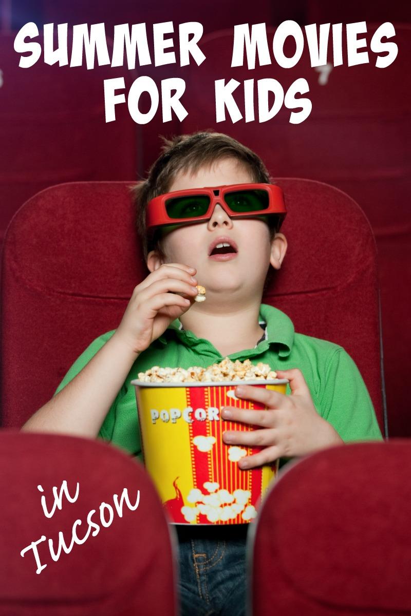 Stay cool (and sane) this summer by hanging out at the movies. Don't miss these free or cheap Tucson summer movies for kids programs.