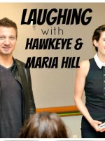 Laughing with Hawkeye and Maria Hill Featured Image