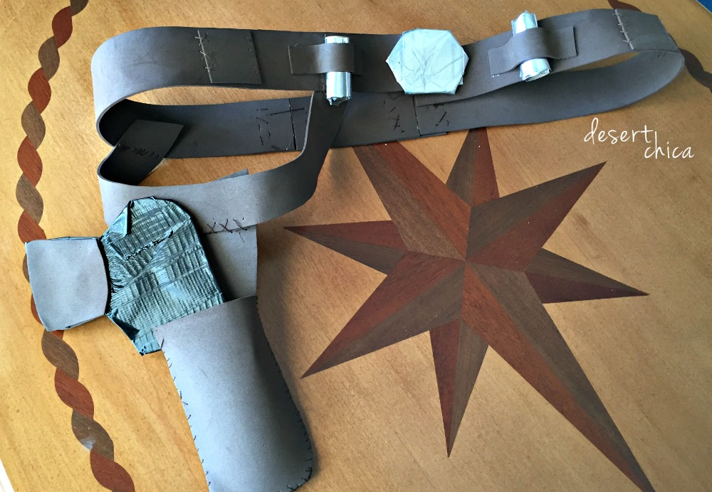 Run Disney Costume Han Solo Belt and Holster