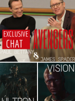 Exclusive Chat: Paul Bettany and James Spader