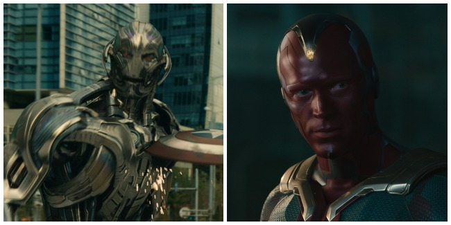 Ultron and Vision #AvengersEvent