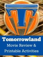 Disney's TOMORROWLAND  Tomorrowland pin   Ph: Kimberley French  ©Disney 2015