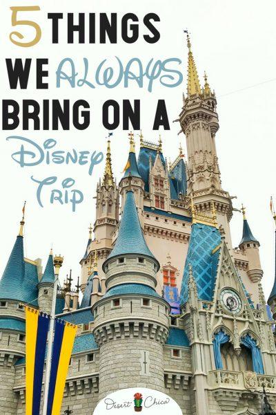 5 Things We Always Bring on a Disney Trip