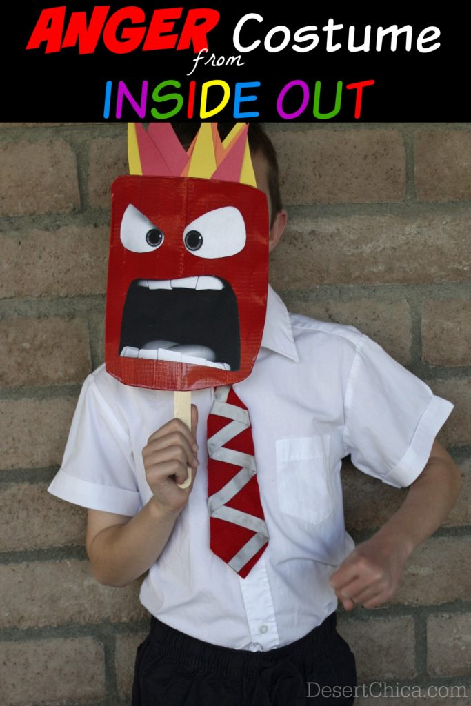 Anger From Inside Out Costume Idea