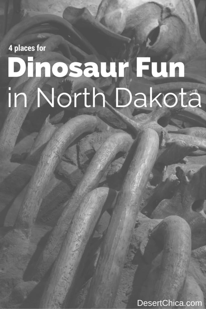 Dinosaur Fun in North Dakota