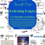 Inside Out Coloring Pages and Printable Activity Sheets