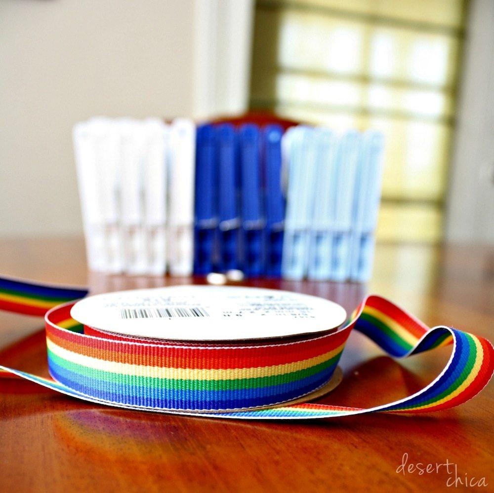 Stuffed Animal Storage Supplies Ribbon and Close Pins