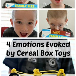 4 Emotions Evoked by Cereal Box Toys
