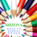 Arizona Back To School Drives 2016