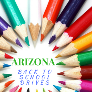 Arizona Back To School Drives 2016