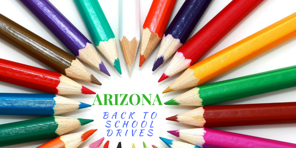 Arizona Back to school drives
