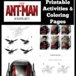 Ant-Man Printable Activities and Coloring Pages