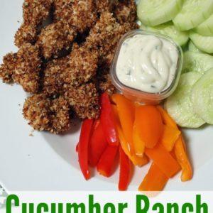 Cucumber Ranch Chicken Nuggets