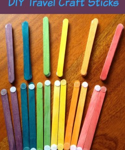 DIY Travel Craft Sticks