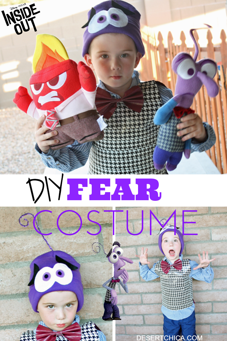 Fear Inside Out Costume