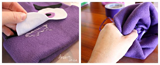 Fear from Inside Out Hat DIY