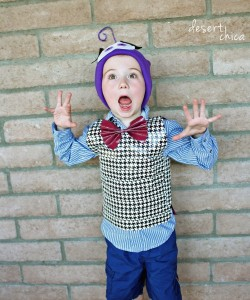 DIY Fear from Inside Out Costume