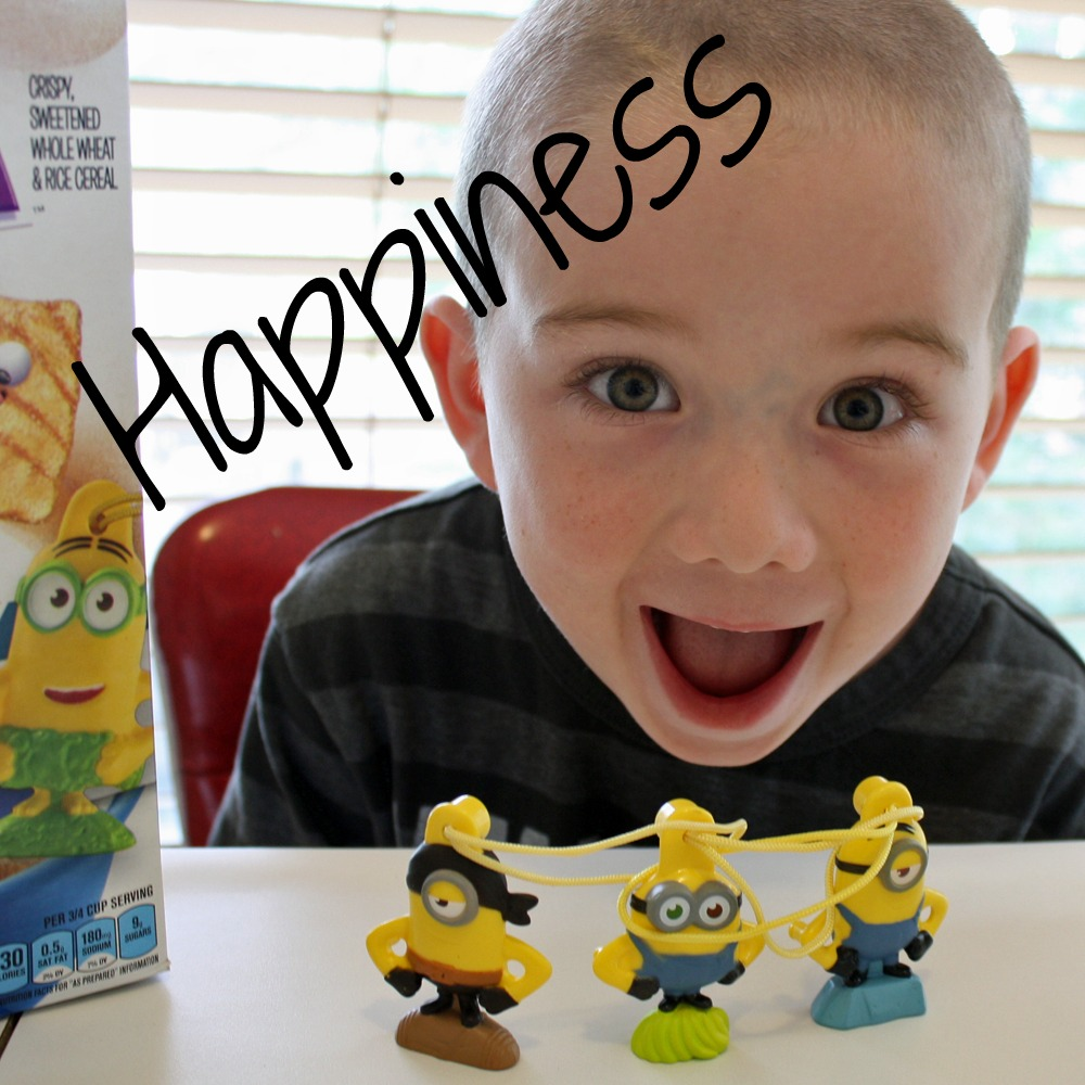 Minions in cereal Happiness
