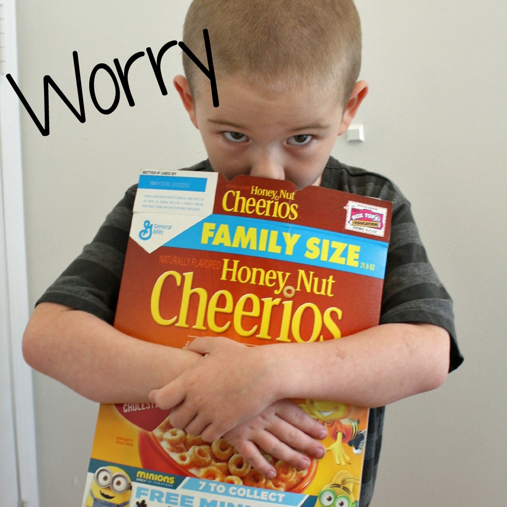 Minions in cereal worry