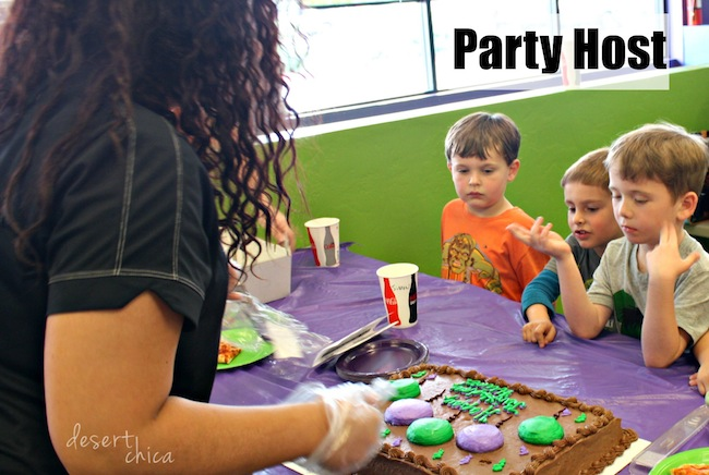 Party Host at AZ Air time Birthday Party