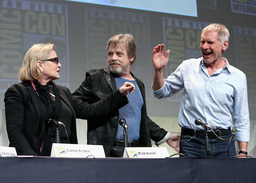 Star Wars: The Force Awakens Comic-Con Panel