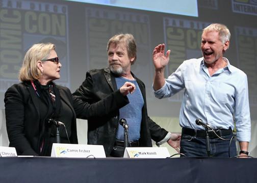 Star Wars: The Force Awakens Comic-Con Panel