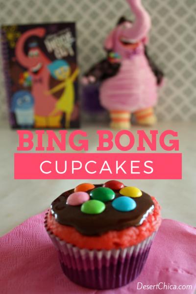 Bing Bong Cupcakes