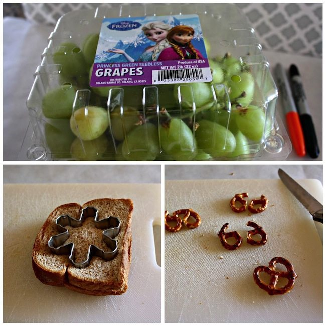 Disney FROZEN School Lunch Kit Ideas