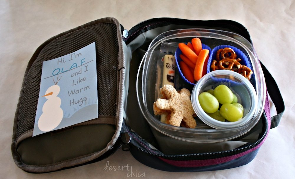 Disney Frozen School Lunch Box