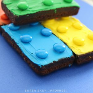 Super Easy LEGO Brownies