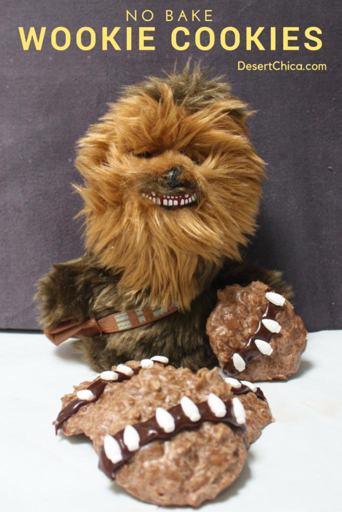 No Bake Wookie Cookies Desert Chica