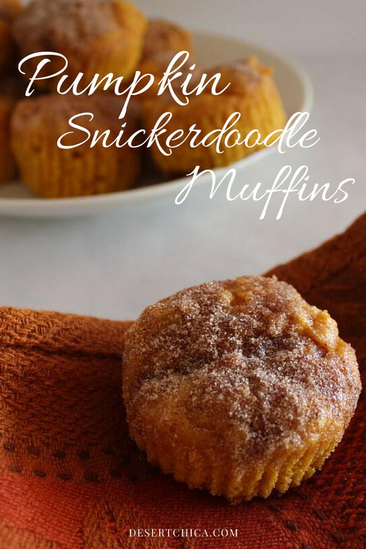 Pumpkin Snicker Doodle Muffins Recipe